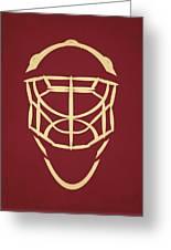 Phoenix Coyotes Goalie Mask Greeting Card