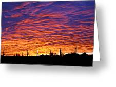 Phoenix Sunrise Greeting Card