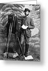 Photographer, 1900 Greeting Card