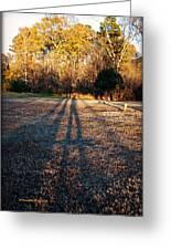 Photographer Shadow Greeting Card