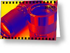 Photographic Lenses Greeting Card