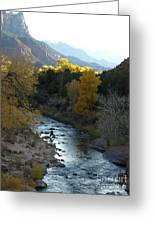 Photographing Zion National Park Greeting Card