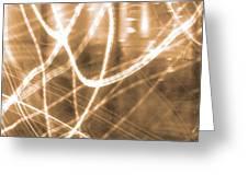 Photon Flow Greeting Card