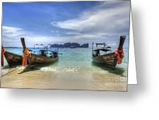 Phuket Koh Phi Phi Island Greeting Card