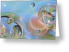 Phun With Quasars Greeting Card