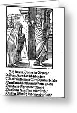 Physician, 1568 Greeting Card