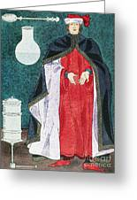 Physician, 16th Century Greeting Card