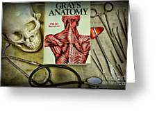 Physician - Tools Of The Trade Greeting Card