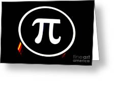 Pi Greeting Card