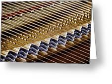 Piano Abstract 6582 Greeting Card