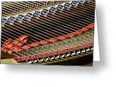 Piano Abstract 6637 Greeting Card