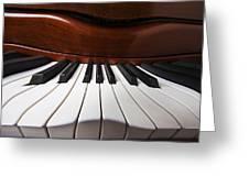 Piano Dreams Greeting Card by Garry Gay