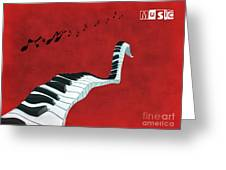 Piano Fun - S01at01 Greeting Card