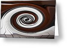 Piano Swirl Greeting Card by Garry Gay