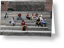 Piazza De High Line Greeting Card