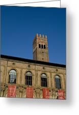 Piazza Maggiore Bologna Greeting Card