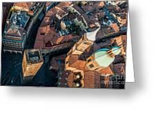 Piazza Ravegnana Greeting Card