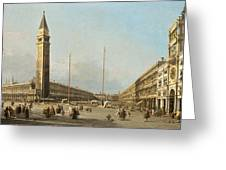 Piazza San Marco Looking South And West Greeting Card