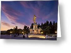Piazzala Michelangelo Greeting Card