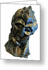 Picasso's Head Of A Woman -- Fernande Greeting Card