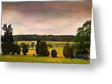 Pickets Charge - Gettysburg - Pennsylvania Greeting Card