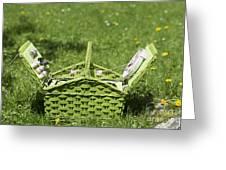 Picnic Basket Greeting Card