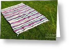Picnic Blanket Greeting Card