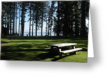 Picnic Place Greeting Card