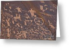 Pictographs 1 Greeting Card