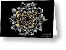 Pictorial Confusion And Diffusion Greeting Card