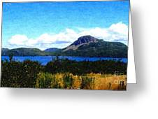 Picture Perfect In Painterly Style Greeting Card