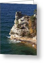 Pictured Rocks National Lakeshore 2 Greeting Card