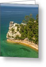 Pictured Rocks National Lakeshore Greeting Card