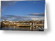 Picturesque Findochty Greeting Card