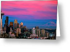 Picturesque Seattle Greeting Card