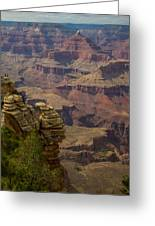 Picturesque View Of The Grand Canyon Greeting Card