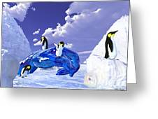 Piece Of Ice Greeting Card