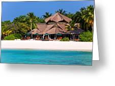 Piece Of Paradise. Maldives Greeting Card