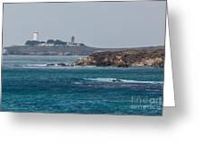 Piedras Blancas Lighthouse A2155 Greeting Card