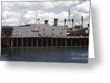 Pier   39 Greeting Card
