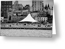 Pier 45 Hudson River Park New York City Greeting Card