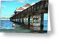 Pier 60 - Clearwater Florida  Greeting Card