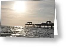 Pier 60  Near Sunset Greeting Card