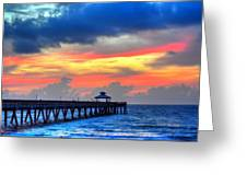 Pier Colors Greeting Card