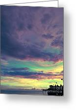 Pier Of Dreams Greeting Card