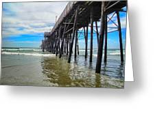 Pier Out Greeting Card