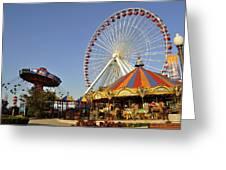 Pier Park Greeting Card
