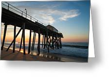 Pier Side Greeting Card