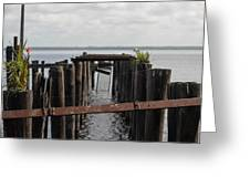 Pier To Nowhere Greeting Card