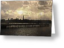 Pier View 1 Greeting Card